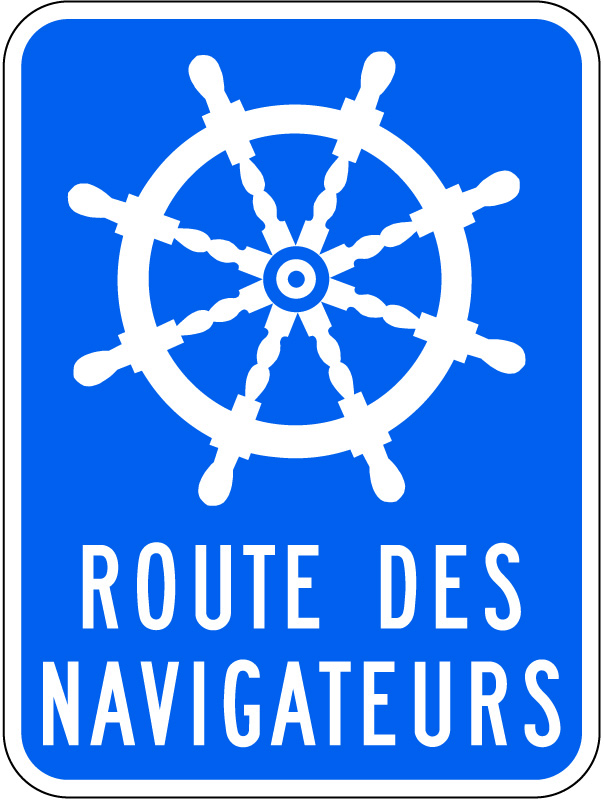Logo route des navigateurs
